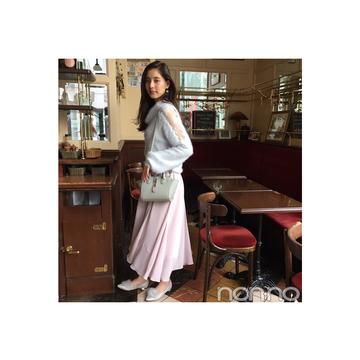 新木優子のふわもこ×透けニットなら鉄板モテしそう♡【毎日コーデ】