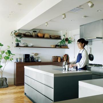 料理研究家・市瀬悦子さんが2度のリノベでアップデートした自宅【これからの私にフィットする住まい】
