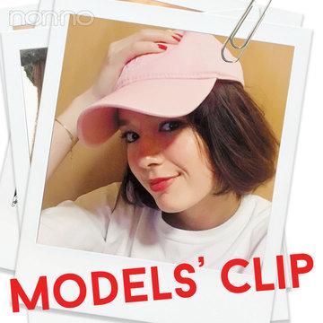 ノンノモデル佐谷戸ミナはSBCのピンクキャップがお気に入り☆彡【Models' Clip】