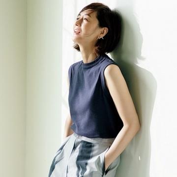 【富岡佳子 Tシャツとダイヤモンド、太陽と笑顔と】デザインピアスの強さを味方に