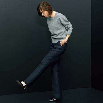 ディオールのパンツは正装感ある上品さ【富岡佳子の「名品が私に教えてくれること。」vol.3】