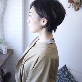 """""""ショート×パーマ""""で動きのある髪型に!_1_2"""