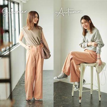 人気ファッションエディター・東原妙子さんの新しい7つのボトムで晩夏→初秋