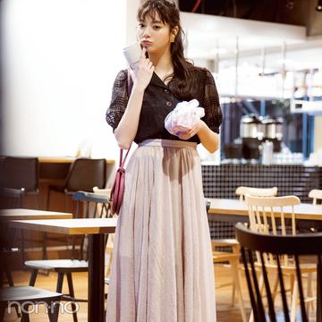 新川優愛の好感度強化着回しday6-10★ モテないはずがないきれいめコーデ♡