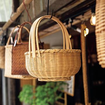 """使うほどに愛着増す。丈夫で美しい「籠」を毎日の生活に【""""京の新名品""""で暮らしを美しく】"""