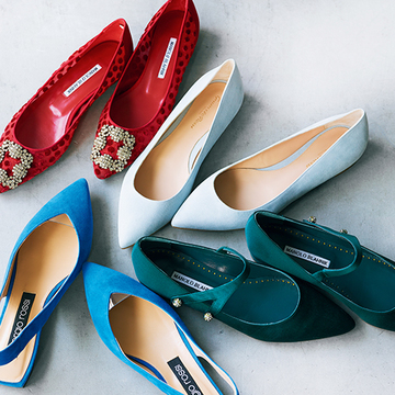 「きれい色フラット靴」で装いにほどよい存在感を!【春のおすすめフラット靴】