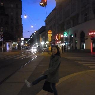5月のウィーンの景色