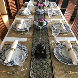タイ料理教室に通い始めました。