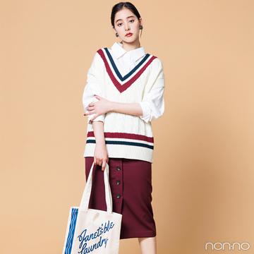 新木優子はタイトミディを合わせて大人のベストスタイル【毎日コーデ】