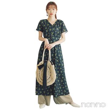 2019年夏トレンド★ ワンピース&パンツのレイヤードスタイルがきてる!