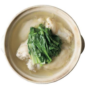 2.手羽と小松菜の鍋