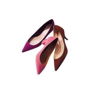 旬の足もとになる、きれい色&スエードづかいのシューズ3選