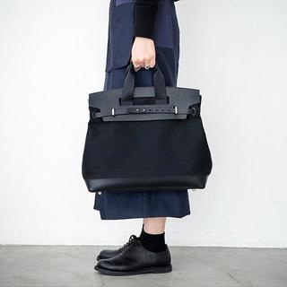 刺し子織のモードなバッグ♡