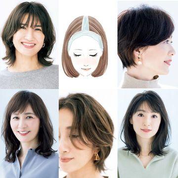 2021年似合う髪型が見つかる!長さ別ヘアスタイル集をチェック【50代髪型人気ランキングTOP10】