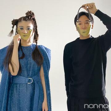 馬場ふみかも愛するファッションブランド、YOHEI OHNO デザイナーとコラボ!【馬場ふみかのふみかける】