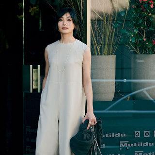 きれいめに着られて、確実にスタイルアップしてくれる「オールインワン」スタイリスト松村純子 × M7days