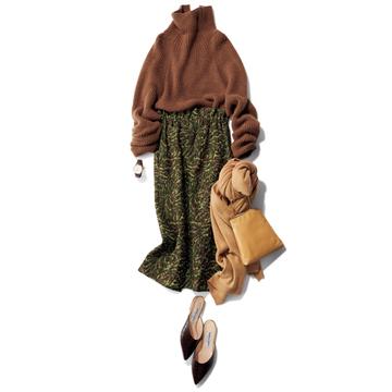 <華やぎスカート編>すぐに使える冬のスタイリング作戦【大草直子さんの最新ファッション戦略】