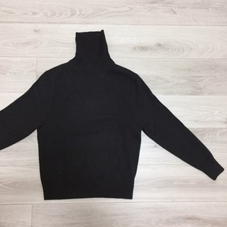 UNIQLOカシミヤセーター着まわし【momoko_fashion】_1_2