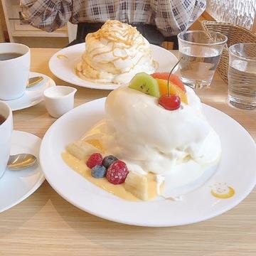 SNSで【美味しすぎる】と話題☆ 究極のパンケーキ「茶香」が凄い