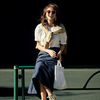 40代が輝く、大人のための上品カジュアルなTシャツコーデカタログ | アラフォーファッション