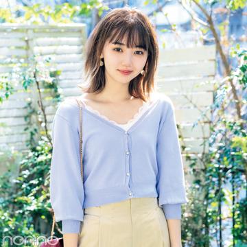 江野沢愛美がお手本! カーディガンを買うならトレンドの丈短が正解★おすすめ5選!