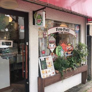 可愛いホットケーキとフルーツのお店