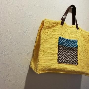 続・手織りと私 ~裂き織りバッグ編~