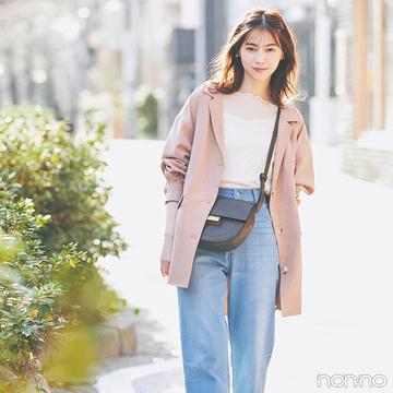 西野七瀬はメロウなトップスで上半身に女らしい肌感をプラス【毎日コーデ】