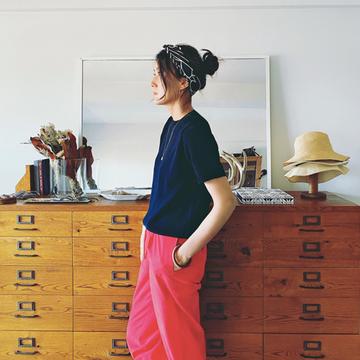 【おしゃれプロのワンマイルコーデ4選】パンツ&ロングスカートファッションをSNAP!