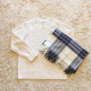 カッコよく、暖かく、冬の白を着たい!