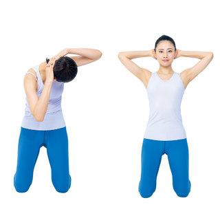 よりくびれを作りやすくするステップ3「肋骨を締める」| 40代ヘルスケア