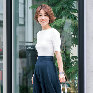 yukieさんのブルー&ネイビースタイル【美女組ファッションSNAP】