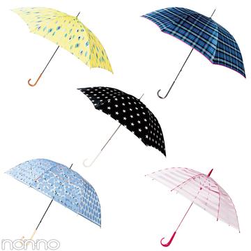 梅雨が楽しいおしゃれレイングッズ★長傘&折り畳み傘のおすすめはコチラ!