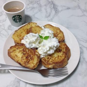 手作りフレンチトースト♡