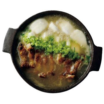 """塩ウニをのせて! """"鶏肉とかぶのみぞれ鍋""""【絶品鍋レシピ28days】"""