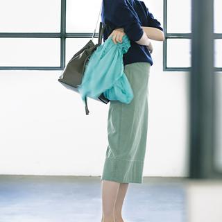 <バレエ靴×スカート>