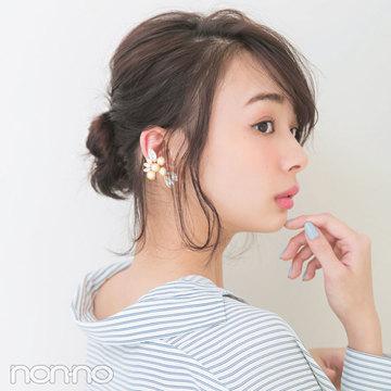 襟抜きシャツのヘアアレンジ♡なじ見せでドキっとさせて!
