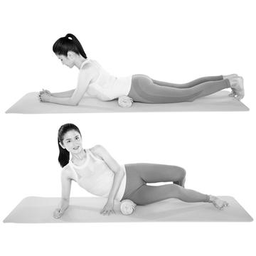 「おしり筋伸ばし」の効果を高める「呼吸&筋膜ほぐし」【おしり筋伸ばし】