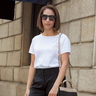 ミラノもパリも「やっぱり白Tシャツが好き!」【ファッションSNAP ミラノ・パリ編】