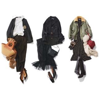 テクニックなしで素敵に見える黒コーデまとめ|アラフォー 2020冬ファッション
