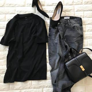 使える1,000円メンズの黒!カジュアル、上品これ1枚【高見えプチプラファッション #45】