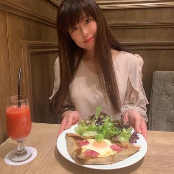 ビストロカフェで春気分♪