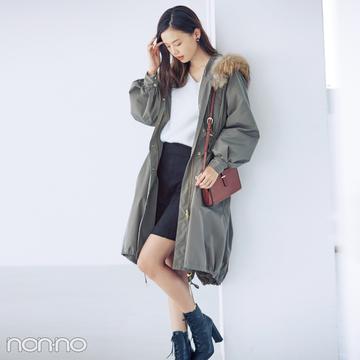 辛口コートを大人に着こなして、2018年のおしゃれ納め!【毎日コーデ】