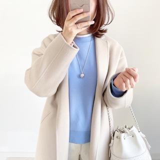 『GU』新☆神デニムとイロチ買いした春色スウェット【tomomiyuコーデ】
