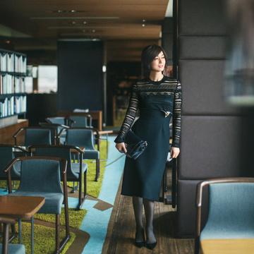 [富岡佳子 私服レシピ] <レーストップス> part 1