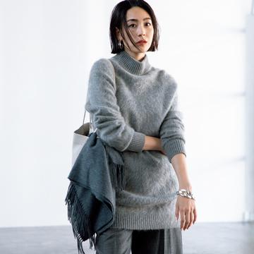 【グレーカラーの洗練コーデ3選】表情豊かなグレースタイルで新鮮な着こなしをかなえて