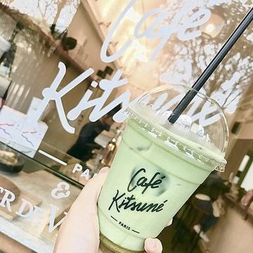 【抹茶】好き必見!Maison Kituné カフェの抹茶ラテを紹介します♡