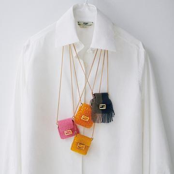 フェンディのビーズバッグをモードなアクセサリーに 【20歳からの名品】