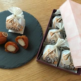 職人が手間ひまかけた逸品! 栗と柿が同時に味わえる和菓子