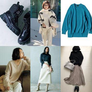 着こなしの主役はニット「2020冬ニット特集」をチェック【ファッション人気ランキングTOP10】